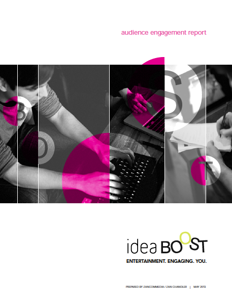 Screen Shot ideaBOOST report